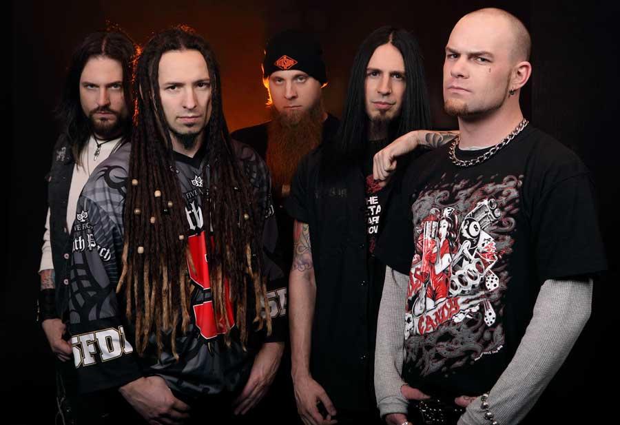 Five Finger Death Punch - an intense name for an intense band