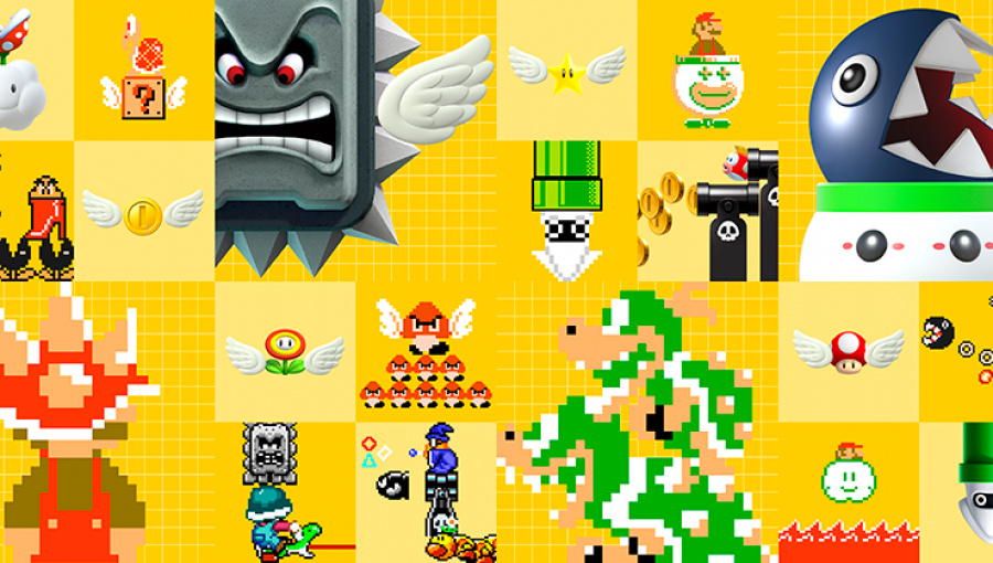 NES Remix Event And Frog Mario Costume Hop Into Super Mario Maker