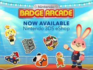 Nintendo Badge Arcade