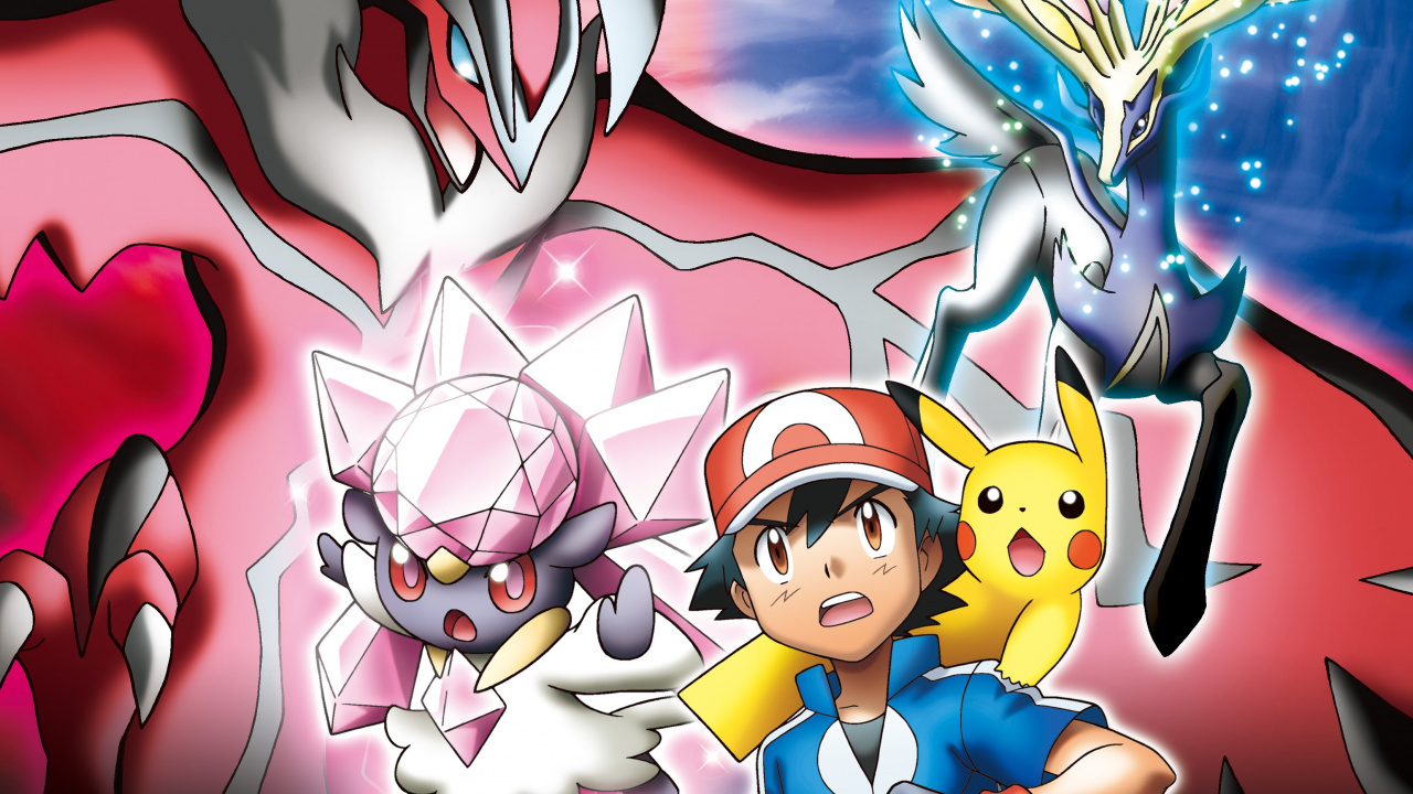 Pokemon The Movie Diancie And The Cocoon Of Destruction Now