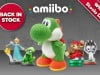 Splatoon and Mega Yarn Yoshi amiibo Included in Nintendo UK Restock