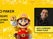 Tune In Today For a Nintendo UK Super Mario Maker Broadcast With Comedian Imran Yusuf