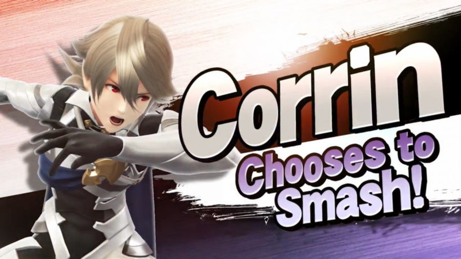 Corrin Joins the Roster in Super Smash Bros. for Wii U and 3DS