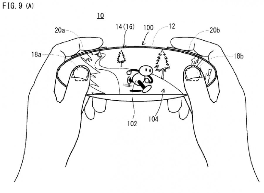 Fascinating Patent Shows Nintendo Portable Utilising Free Form