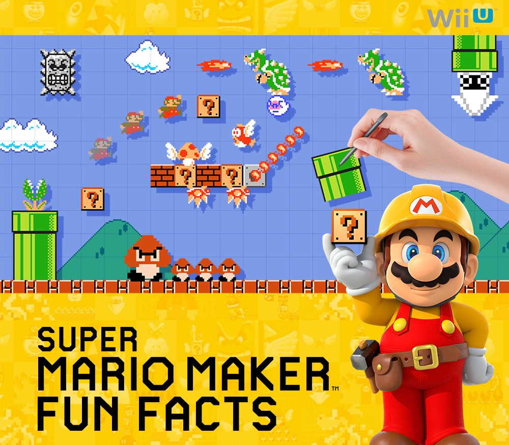 Gawk at This Super Mario Maker Infographic and Its Impressive Stats