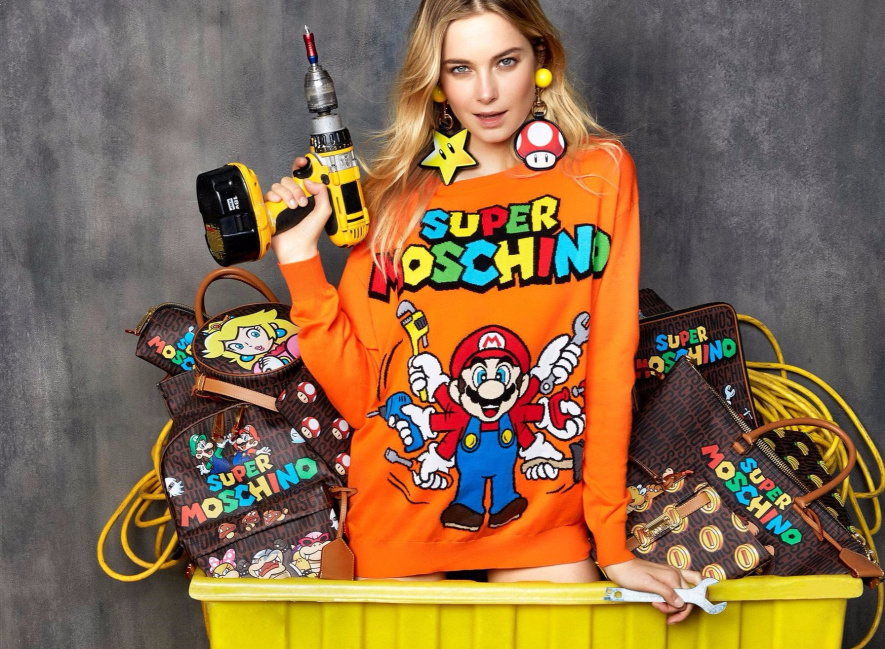 """Nintendo Smartens Up For """"Super Moschino"""" Collection Of ..."""