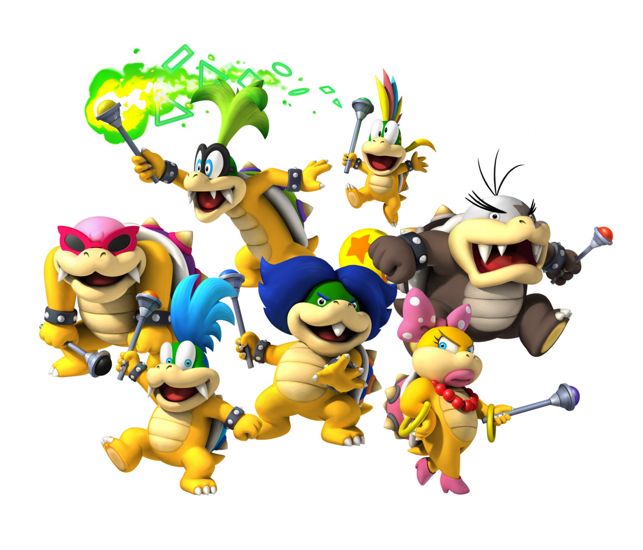 Random Heres Where All The Koopalings Got Their Names