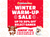 Another 17 Games Get North American eShop Discounts in the Winter Warm-Up Sale
