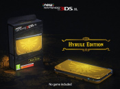 "European Zelda Fans Are Getting A Shiny ""Hyrule Edition"" New 3DS XL Console In March"