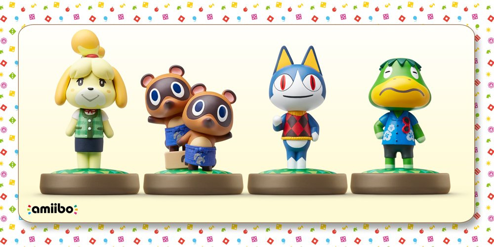 Four More Animal Crossing Amiibo Figures Arrive In Europe On 18th March Nintendo Life