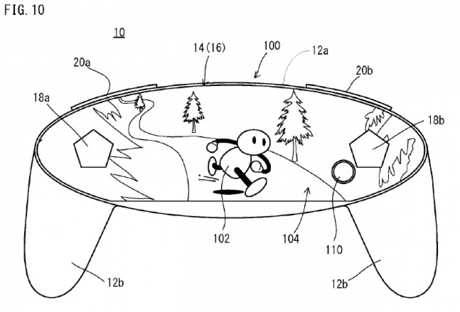 A Nintendo patent from late 2015 that captures the imagination
