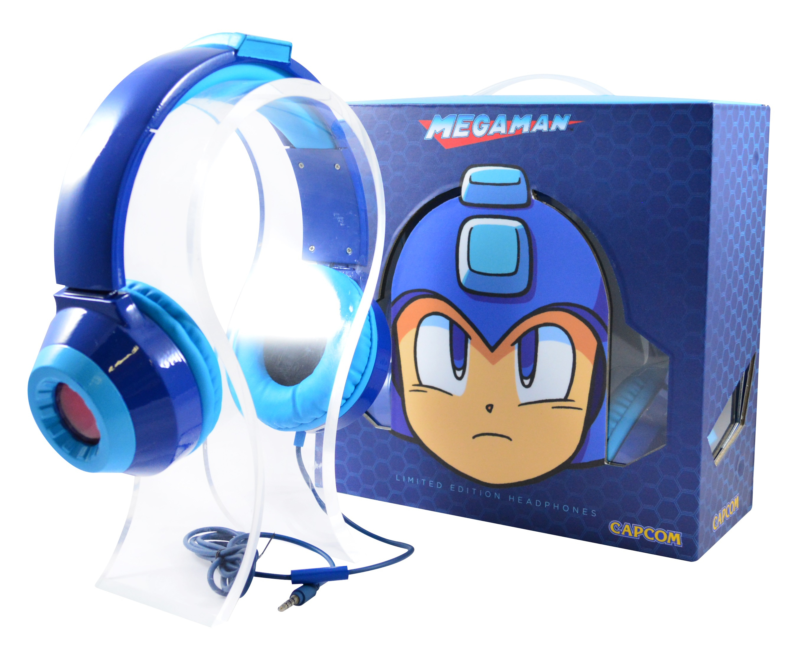 3c0a2b67b1e Random: Check Out the Official Mega Man Headphones - Nintendo Life