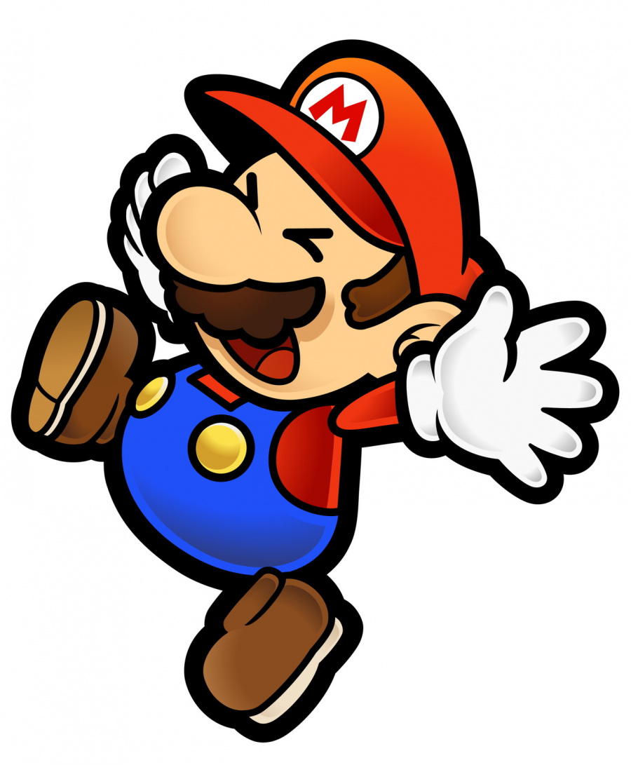 Mario realises that he might not be able to play Mario Kart 8 online