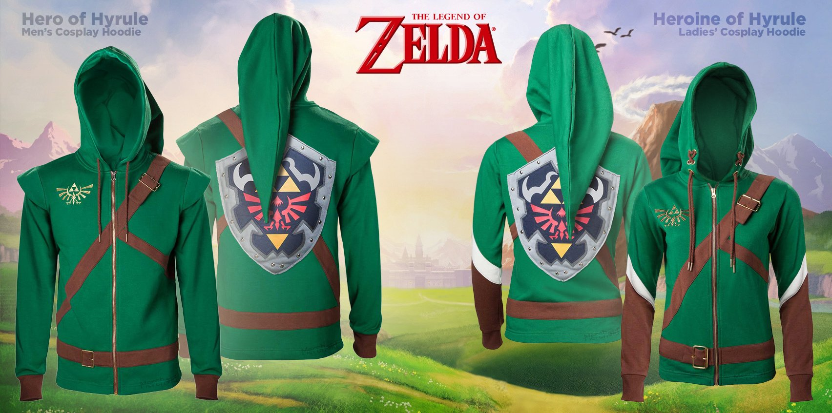 A Legend To Commemorate: Merchoid Has The Perfect Clothing To Celebrate Zelda's