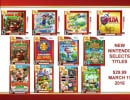New North American Nintendo Selects Range Emerges in Retailer Listings