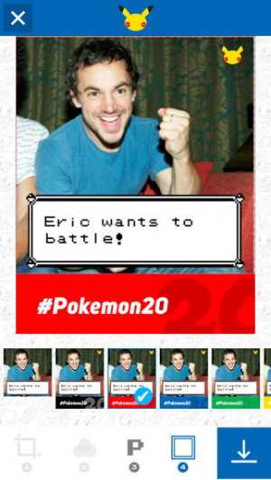 Pokémon Photo Booth