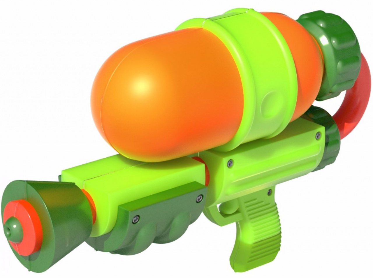 The guns in splatoon take a lot of inspiration from real world water