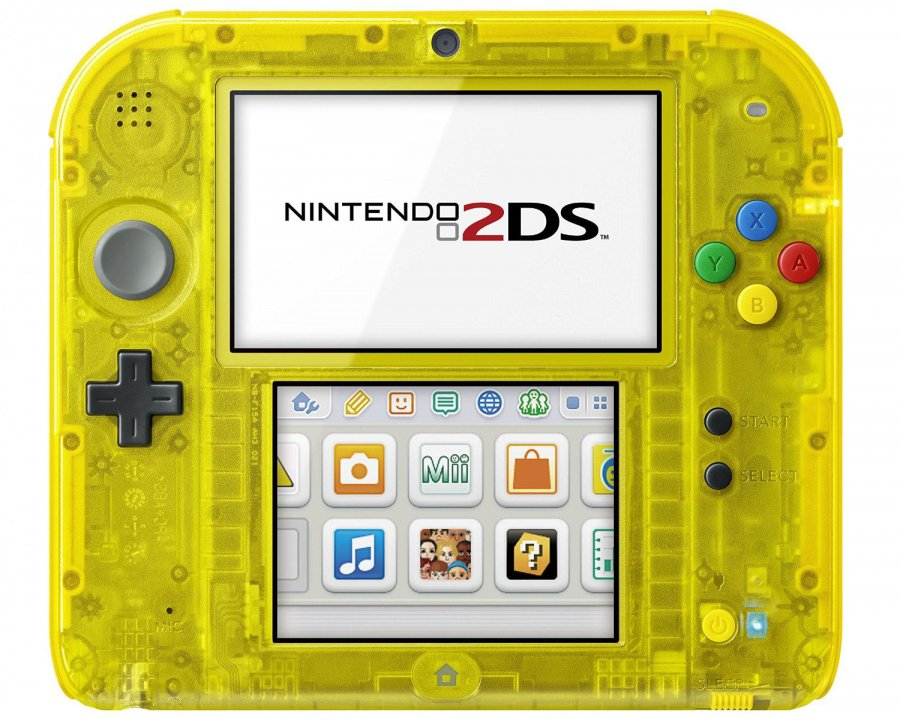 what firmware does new 3ds xl pikachu edition come with