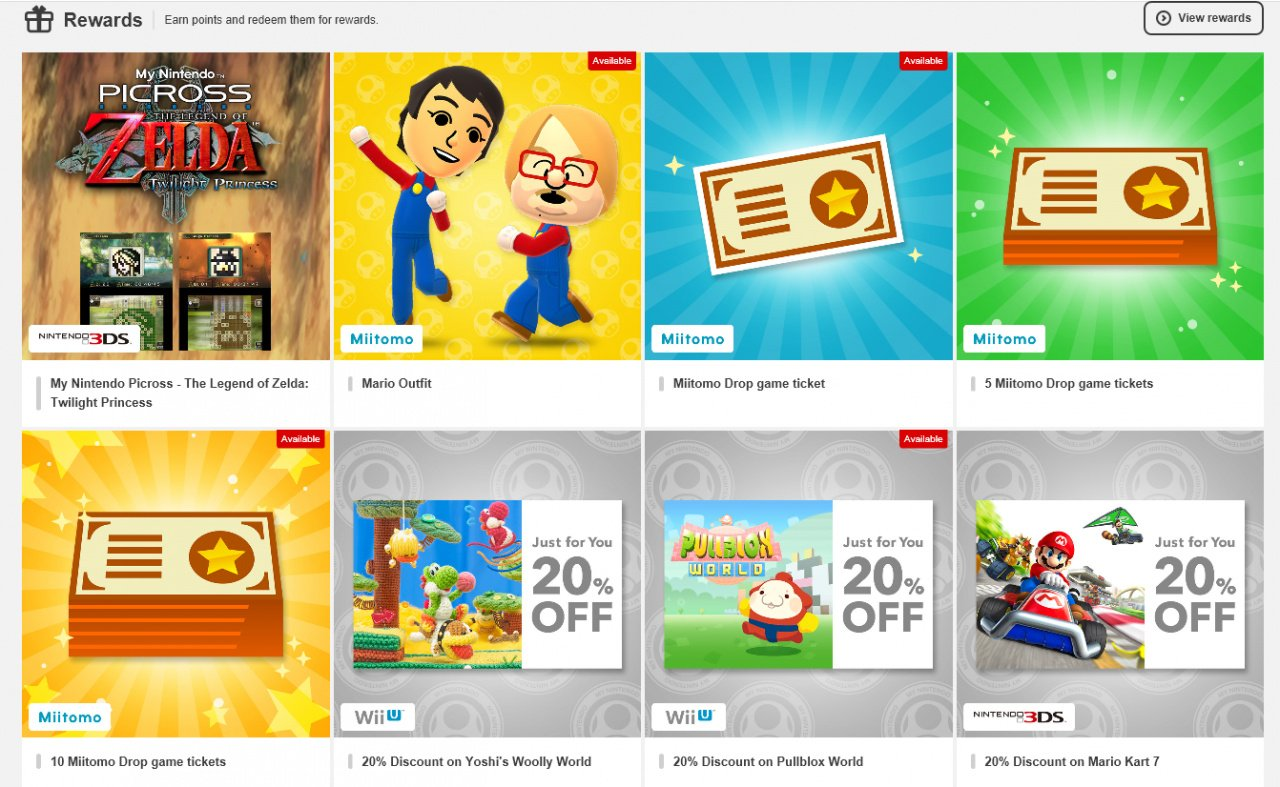 My Nintendo and Its Rewards Are Live - Nintendo Life