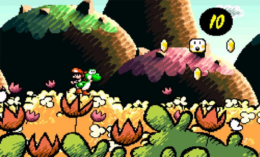 Super Mario World Yoshis Island