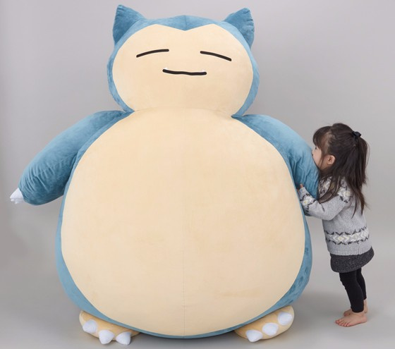 Astounding This Massive Snorlax Plush Doubles As The Perfect Pokemon Pabps2019 Chair Design Images Pabps2019Com