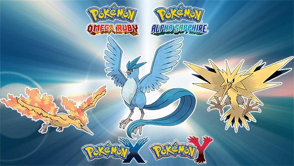 UK Gamers Can Now Catch a Legendary Pokémon Bird ...