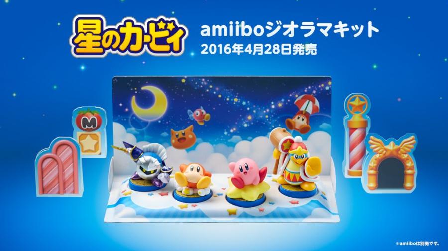 Kirby amiibo Diorama