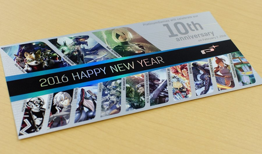 PlatinumGames is celebrating its 10th anniversary this year