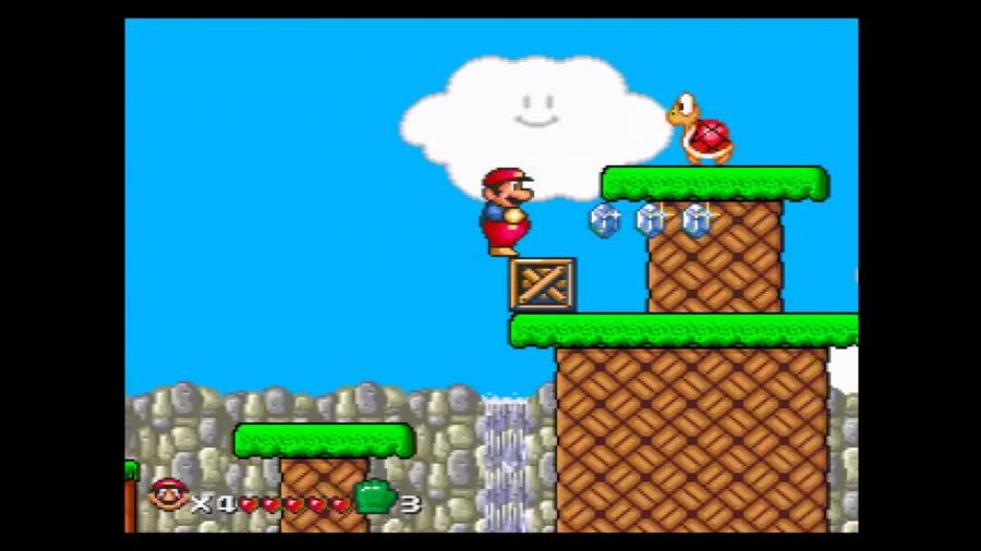 It's Super Mario World, but on the Mega Drive!