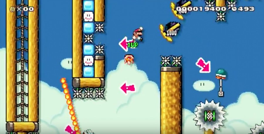 Super Mario Maker - The ER: Surgical Shells 2.0