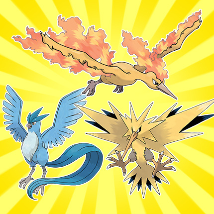 Three Legendary Pokémon Birds to Take Flight in the US in ...