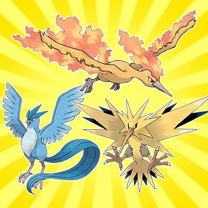 Three Legendary Pokemon Birds To Take Flight In The Us In May