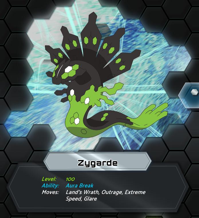 Legendary Pokémon Zygarde, Shiny Xerneas and Shiny Yveltal ...