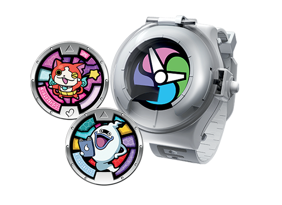 Toy ranges are a key part of the Yo-kai Watch brand