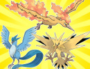 Three Legendary Pokémon Birds Are Now Available Through the Pokémon Trainer Club Newsletter