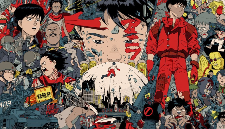 Akira in a single poster