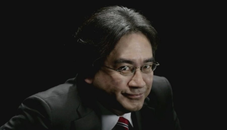One of our favourite images of the wonderful Satoru Iwata