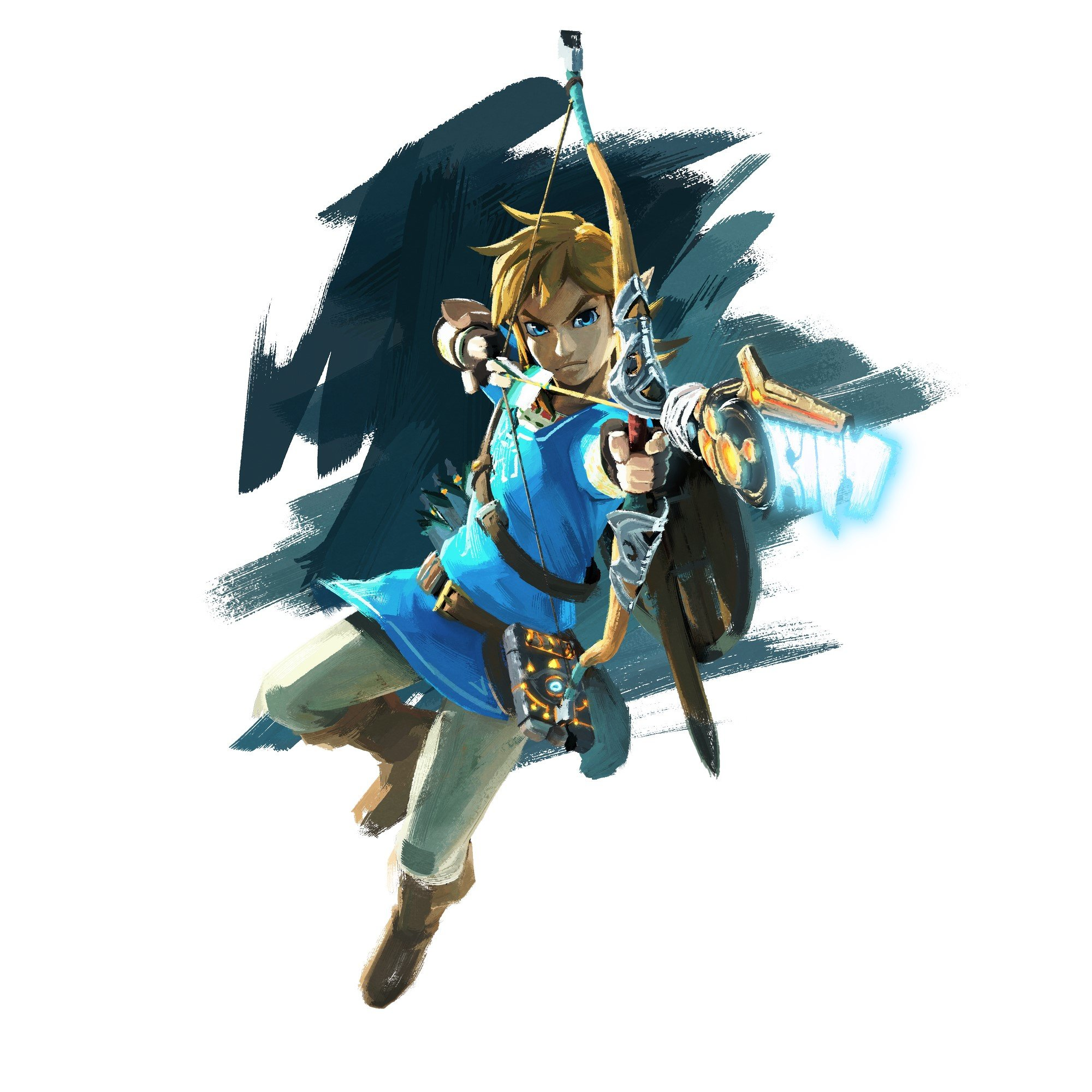 It's just a graphic of Clean Breath Of The Wild Drawing
