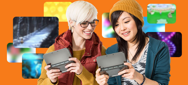 According to Nintendo's official website, buying downloads is this much fun