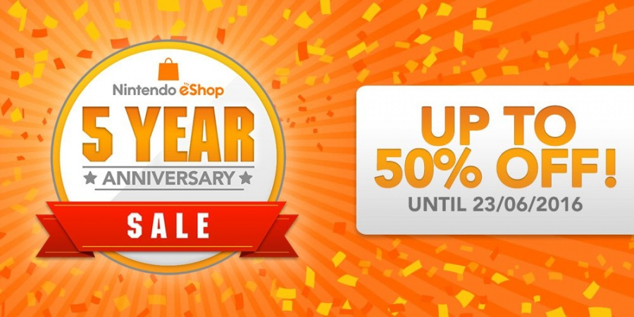 There's already a major eShop sale underway in Europe