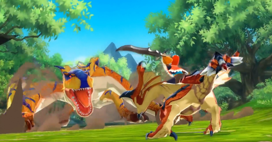 Teaming up with monsters in turn based battles - Monster Hunter Stories is a major departure from the main series