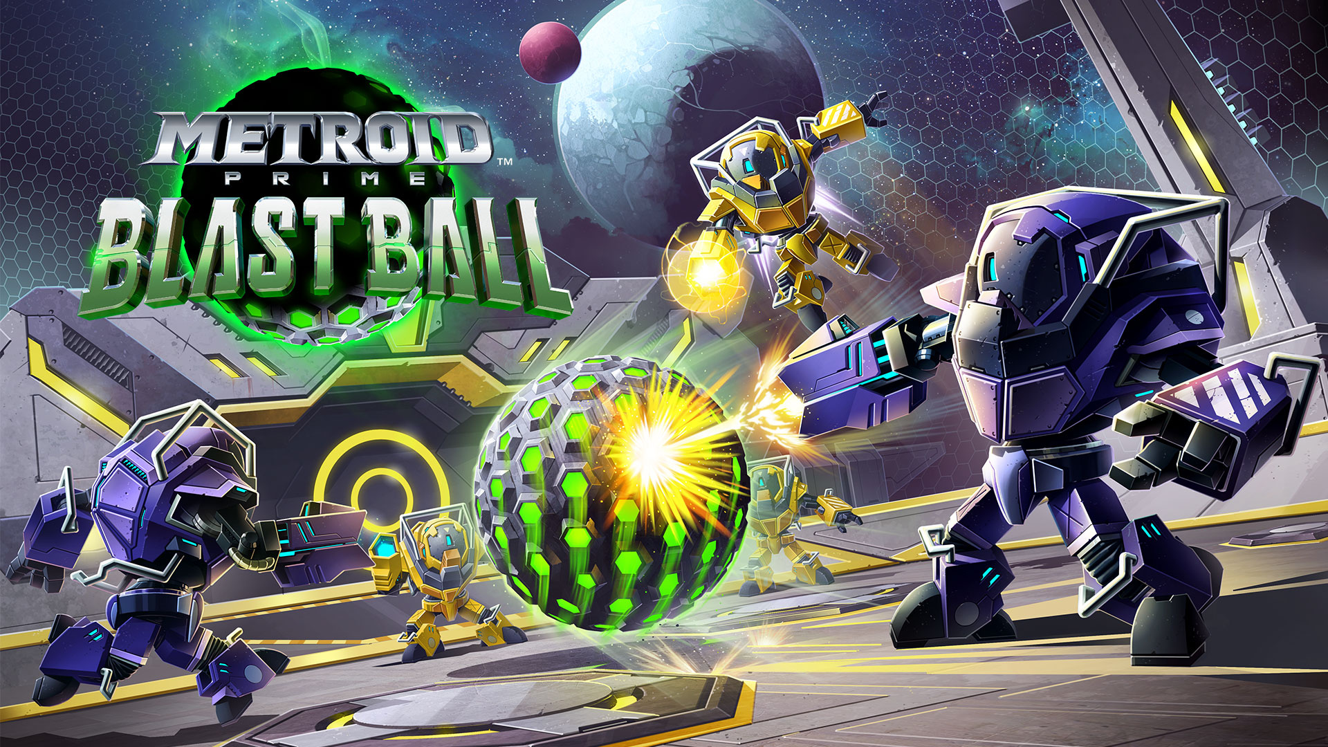 Metroid Prime: Blast Ball Available For Free Right Now