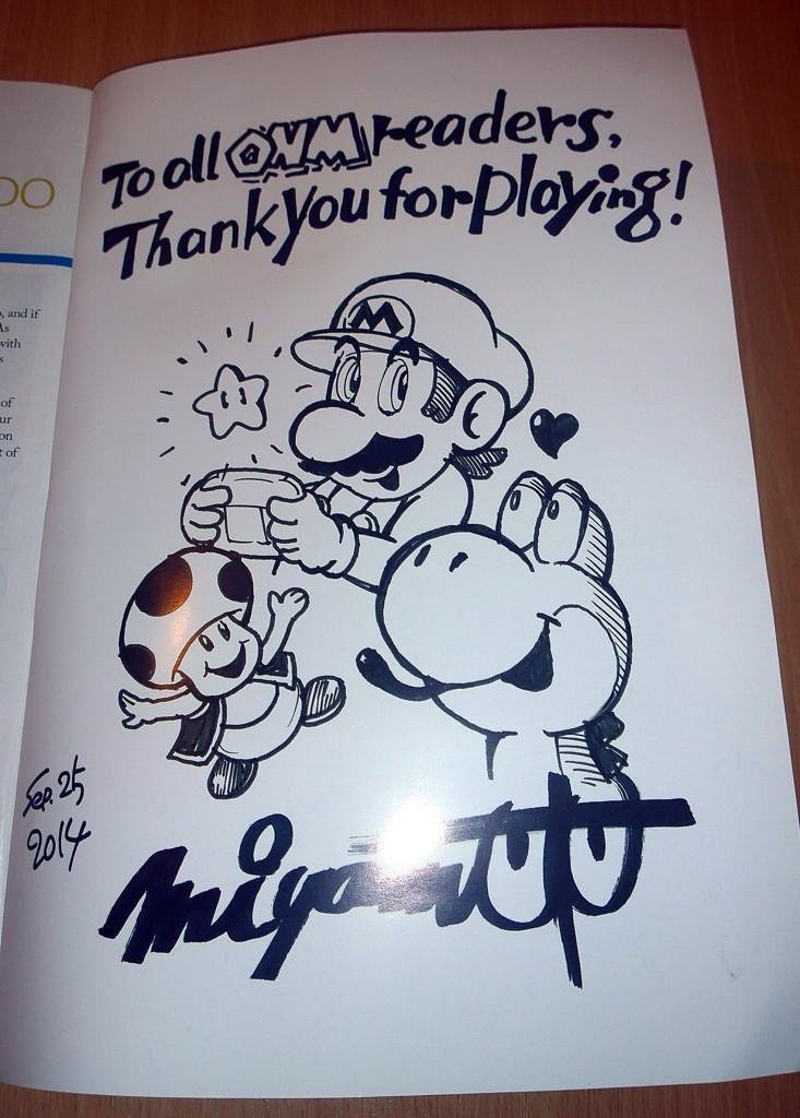 There were some perks - exclusive Miyamoto artwork, anyone?