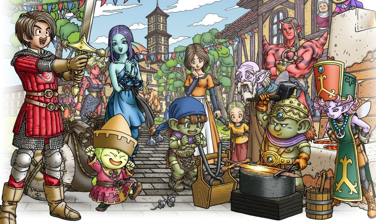 Dragon Quest X Is Confirmed For The Nintendo NX