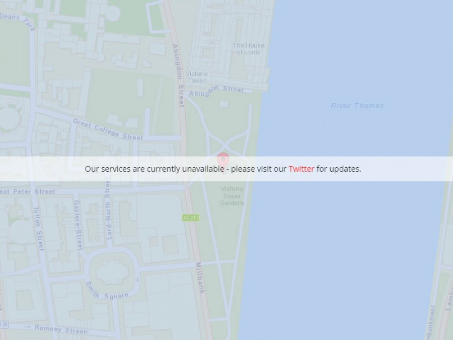 Pokevision is currently offline