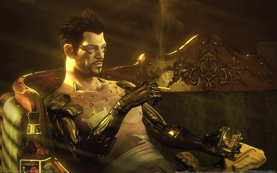 I'll always have Adam Jensen to cheer me up