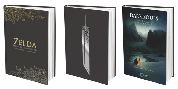 The Kickstarter editions, pictured here, feature reversible covers