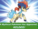 Mythical Pokémon Keldeo Confirmed for Anniversary Distribution in October