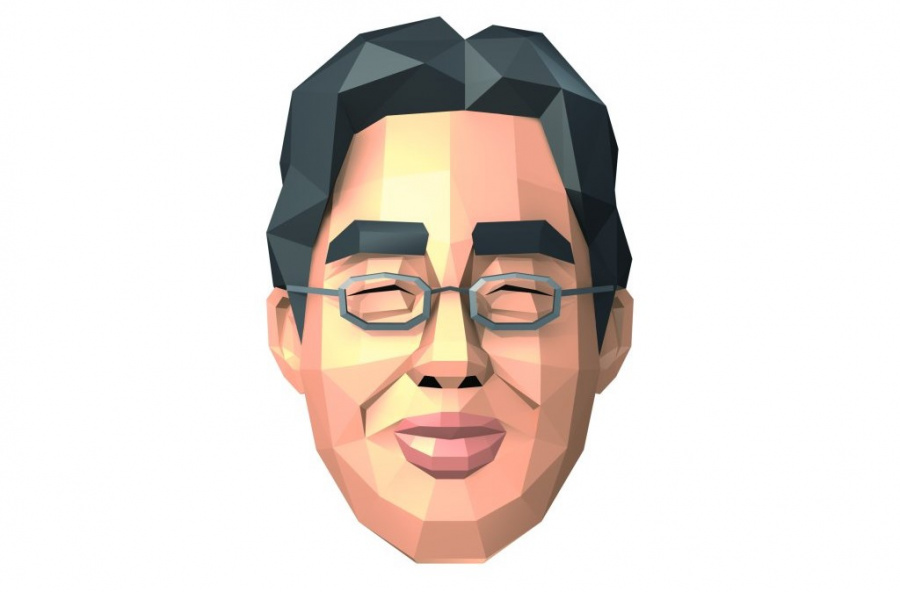 Professor Kawashima will appear in person, not as a floating polygonal head