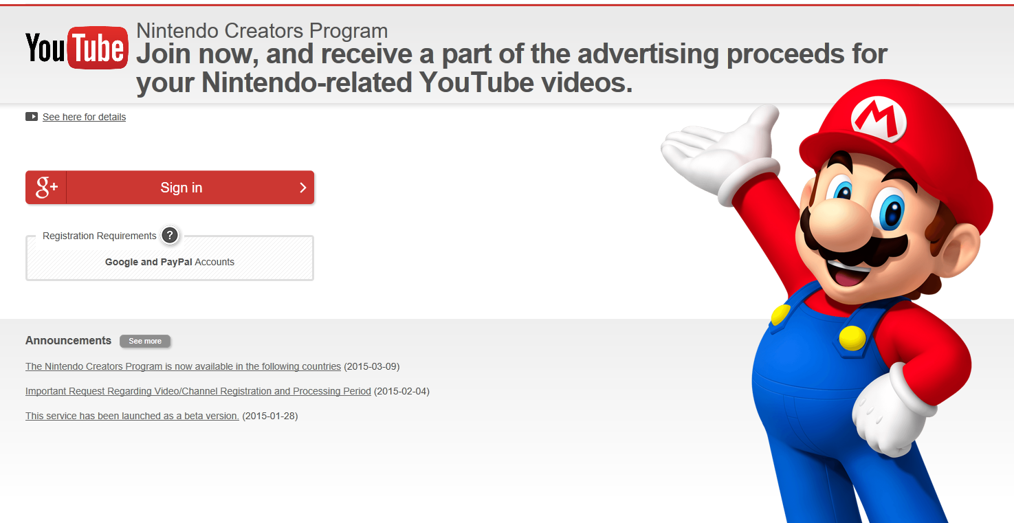 Nintendo's YouTube policies won't have helped its standing with influencers